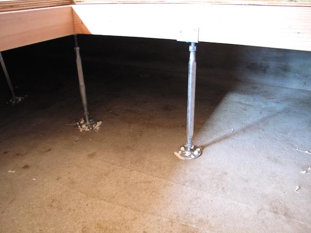 ピアノ床補強2