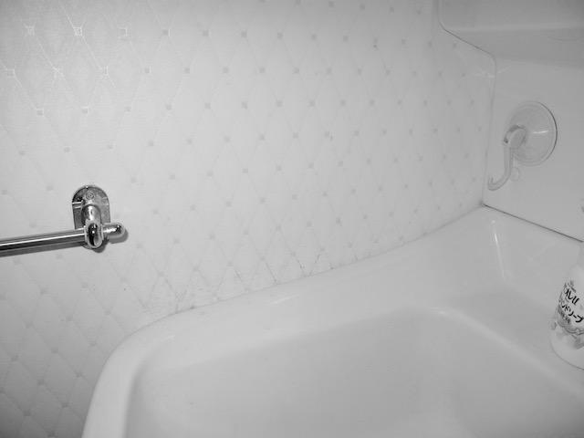 洗面台横クロス