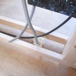 壁内の電気配線の気密対策