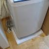 TOTOの洗濯機用防水トレイ洗濯機パン設置