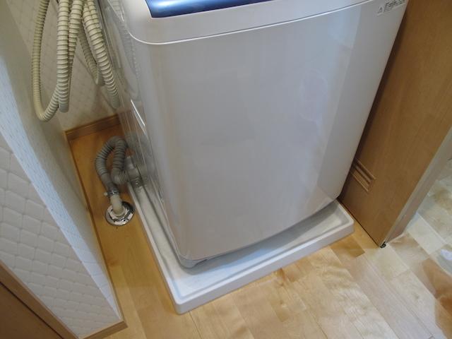 TOTO 洗濯機用防水トレイ PWY1W設置完了