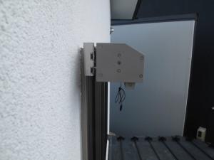夏の窓の日除け(サンシェード)リクシルスタイルシェードロール