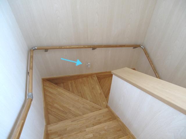 階段コンセント4