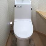 断水時、停電時にタンクレストイレも使用できる