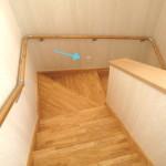 あると便利なコンセント階段の途中にコンセント