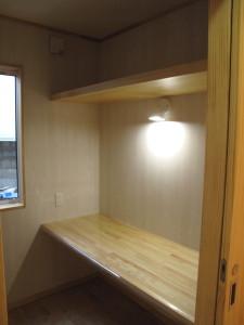 書斎スペース2