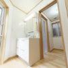 洗面所と脱衣室を別にすると便利