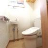狭いトイレは収納を工夫し広く使う