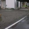 駐車場の砕石敷について